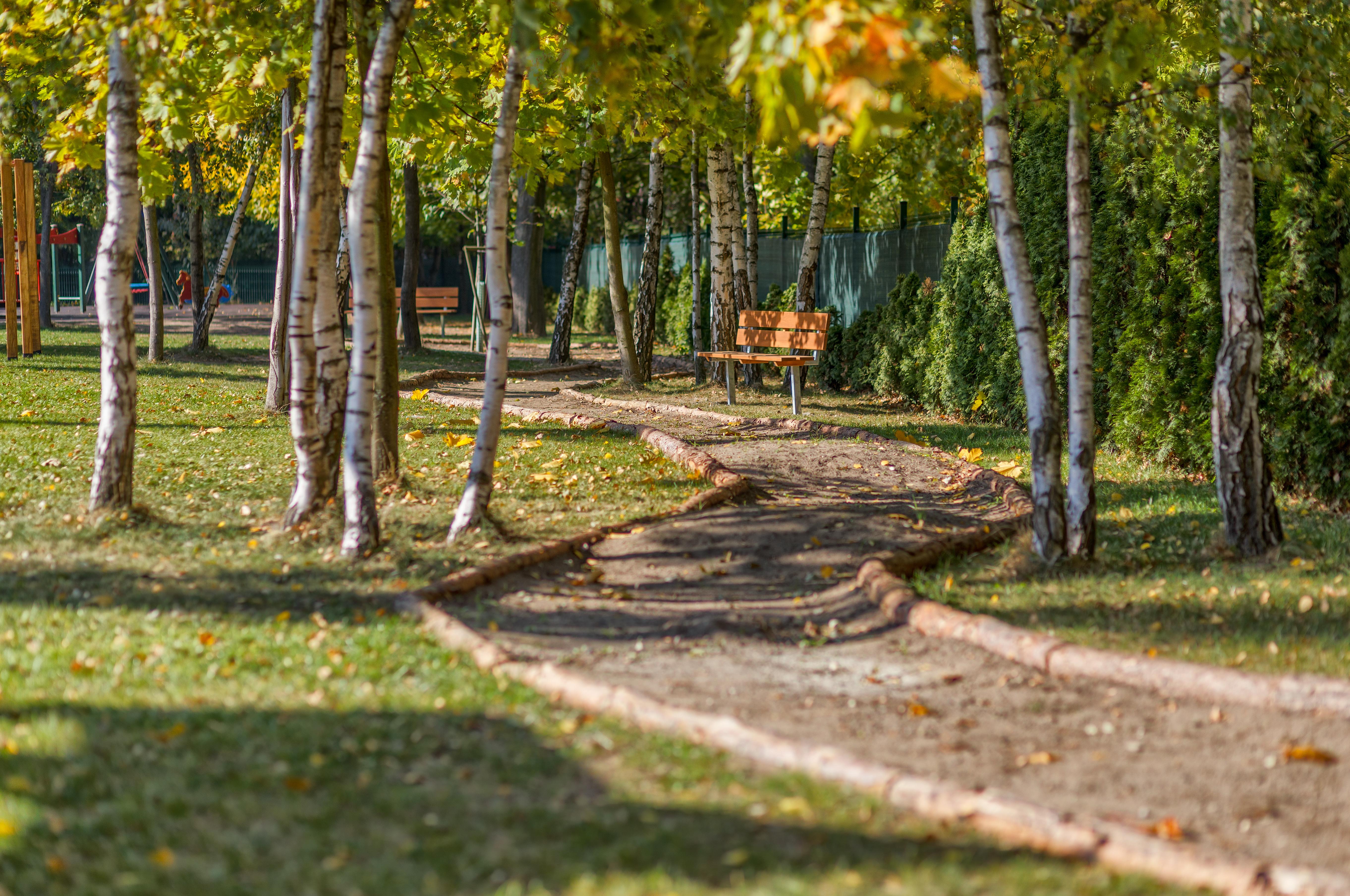 Poznan green path